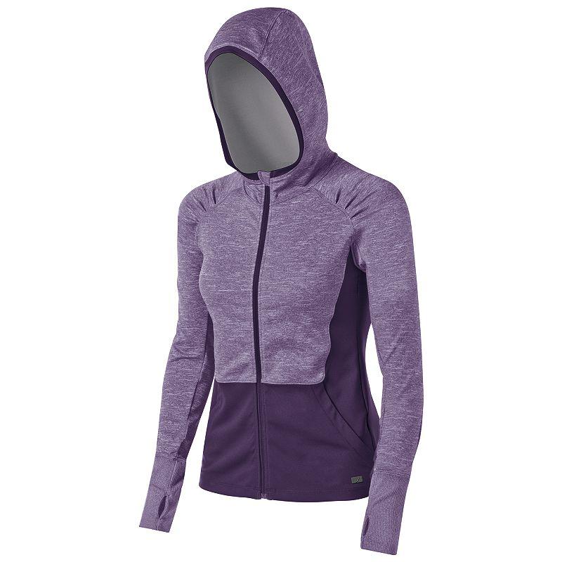 Women's ASICS Fit-Sana Zip-Front Workout Hoodie