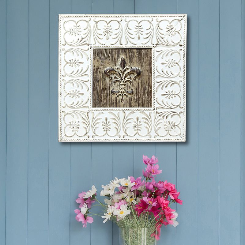 Stratton Home Decor Fleur de Lis Wall Decor