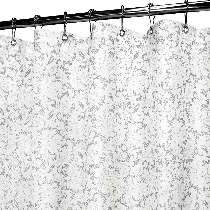 Watershed by Park B. Smith Victorian Lace Stall Shower Curtain
