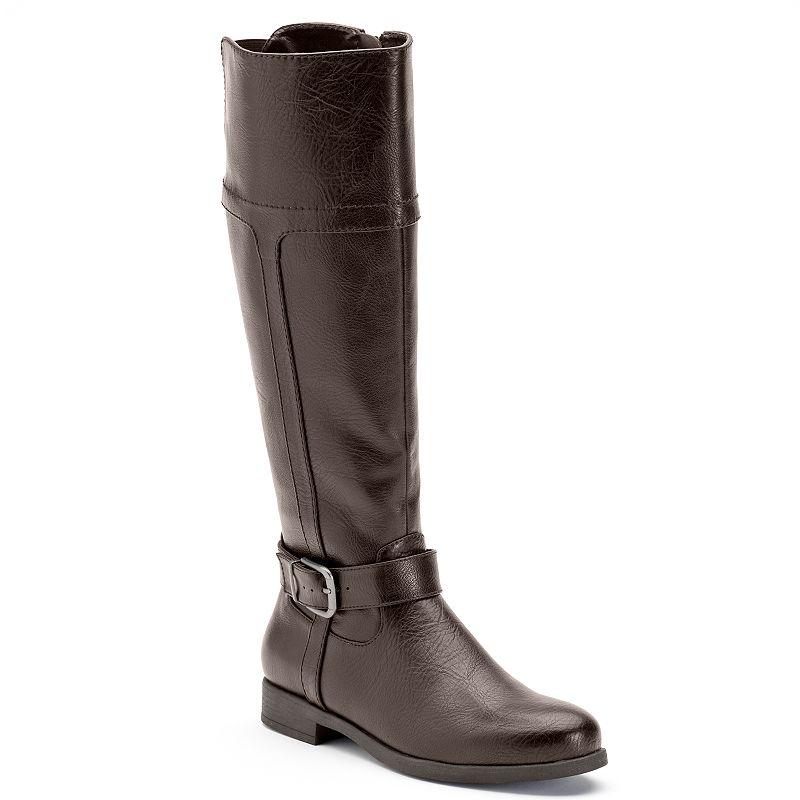 Croft & Barrow® Women's Knee-High Riding Boots