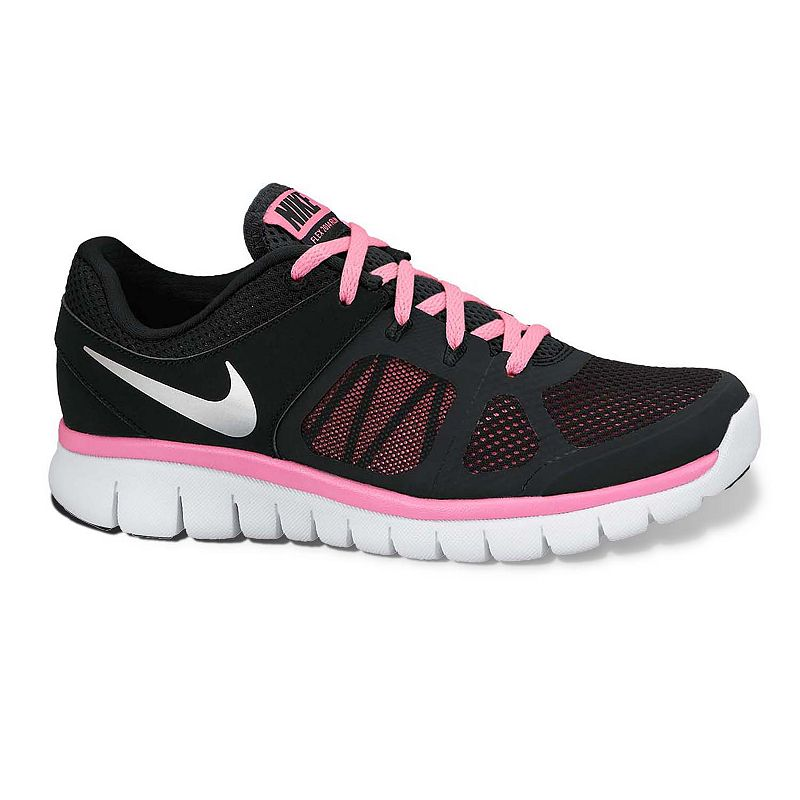 Nike Flex Run High Performance Running Shoes - Grade School Girls