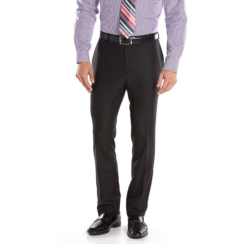 Men's Apt. 9® Extra-Slim Fit Black Suit Pants