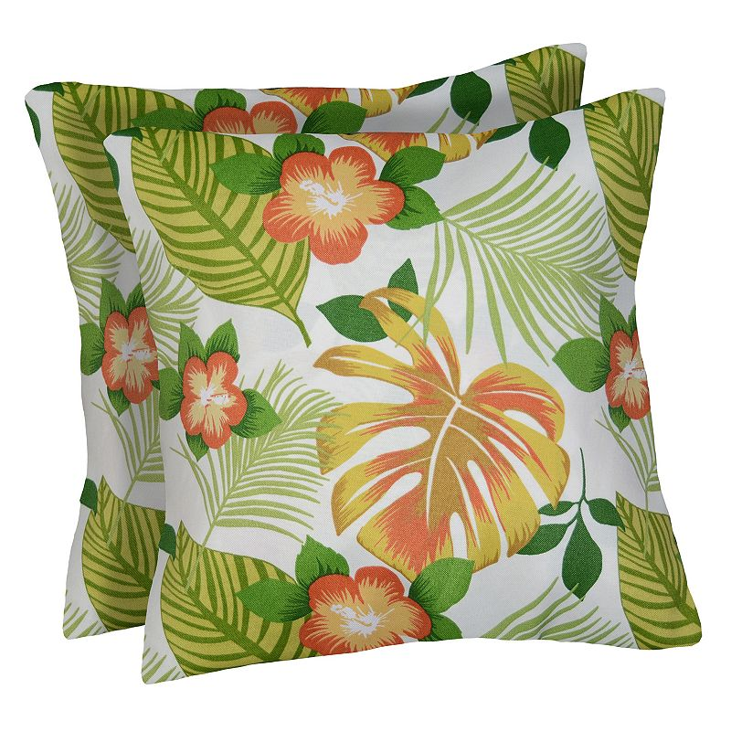 Spencer Home Decor 2 Piece Hanko Pina Colada Throw Pillow