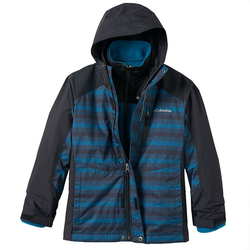 Boys 8-20 Columbia Blizzard Blast 2-In-1 Jacket