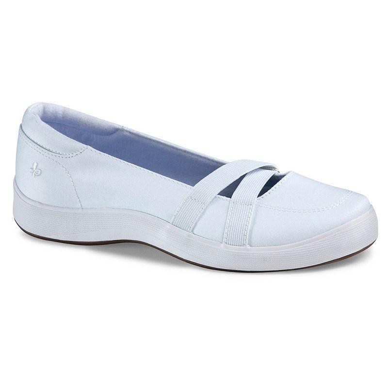 Grasshoppers Juniper Women's Wide-Width Slip-On Mary Jane Sneakers