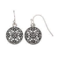 Apt. 9® Round Filigree Drop Earrings
