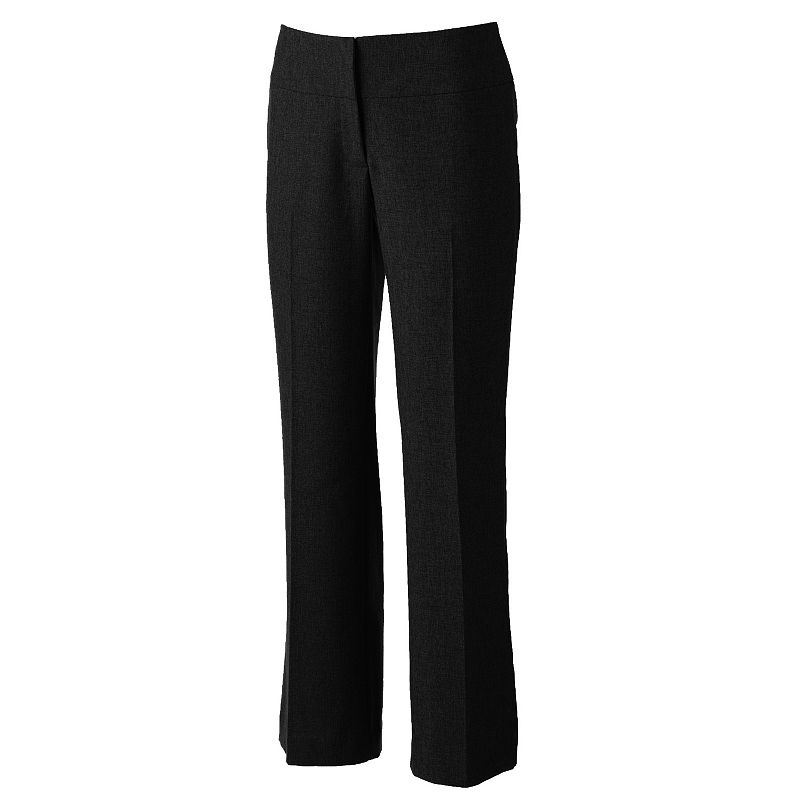 Petite Apt. 9® Curvy Fit Straight-Leg Dress Pants