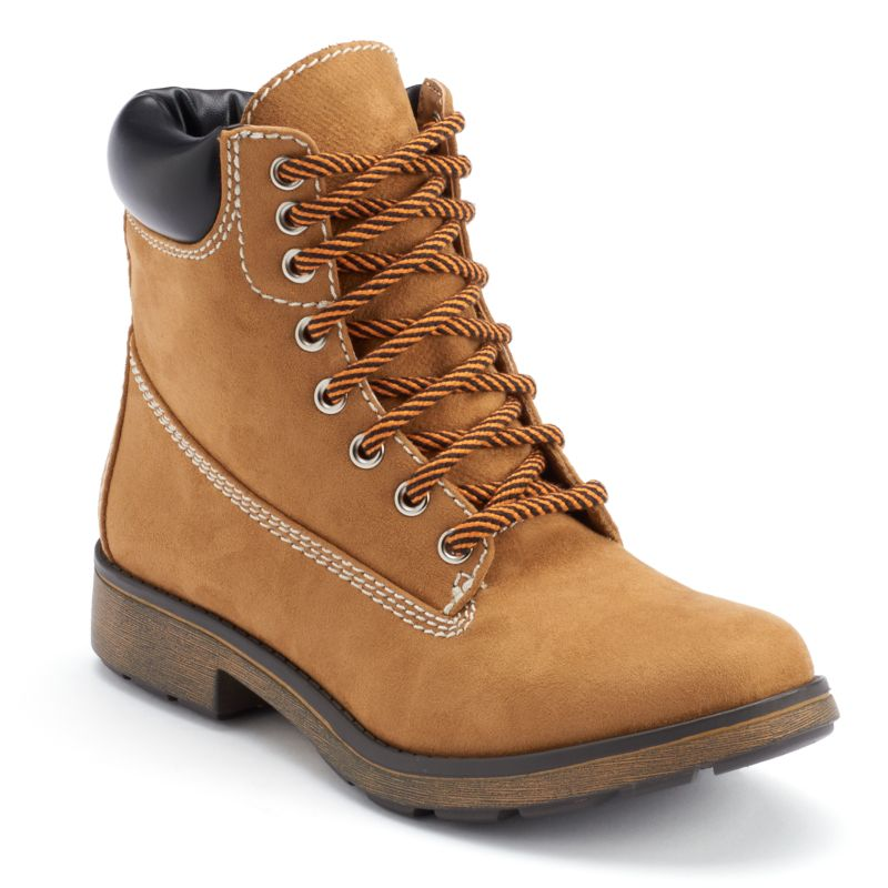 lace up suede ankle boots kohl s