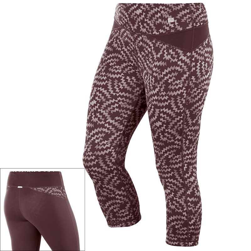 ASICS Fit-Sana Reversible Capri Workout Leggings - Women's