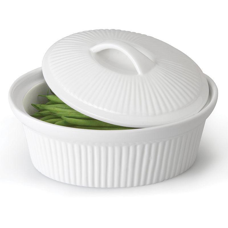 BergHOFF Bianco 3.7-qt. Oval Casserole Dish