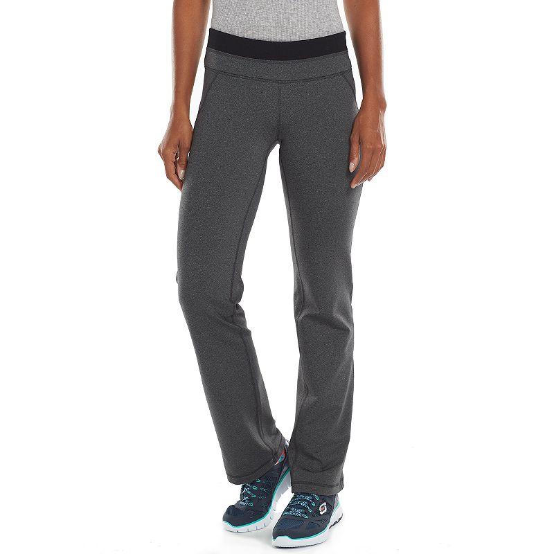 Petite Tek Gear® Shapewear Bootcut Yoga Pants