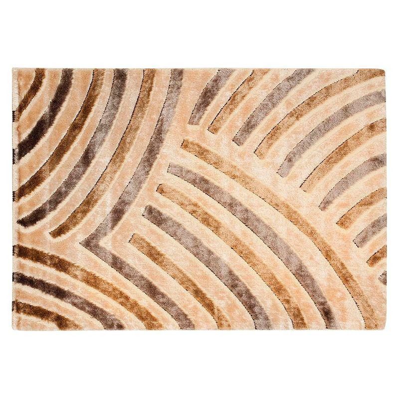 Safavieh Shag Striped Curves Rug