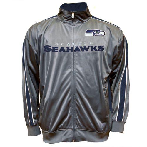 Big & Tall Seattle Seahawks Tricot Track Jacket