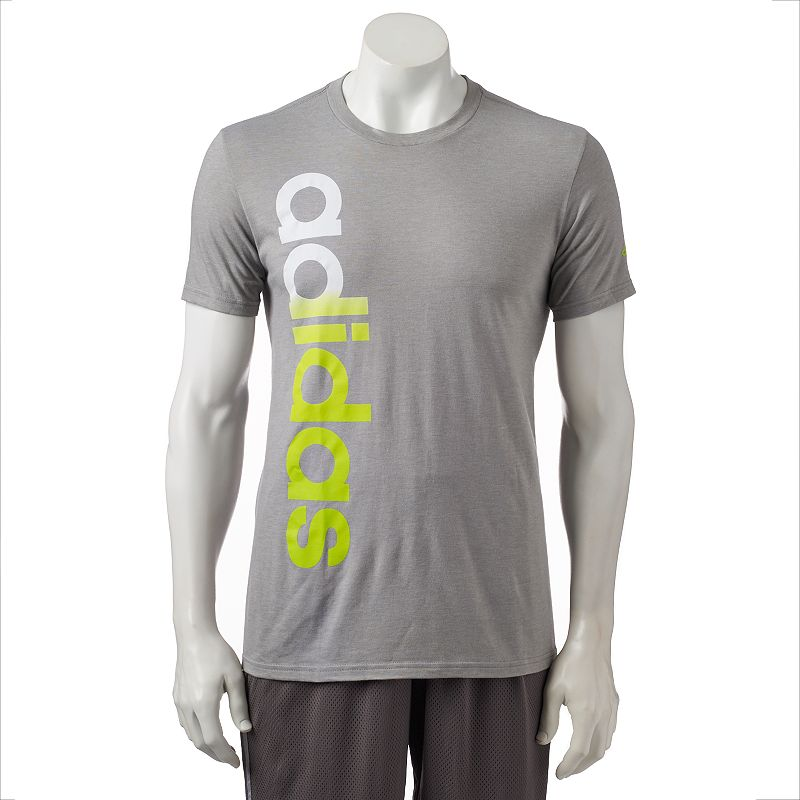 men 39 s adidas the go to performance logo tee dealtrend. Black Bedroom Furniture Sets. Home Design Ideas