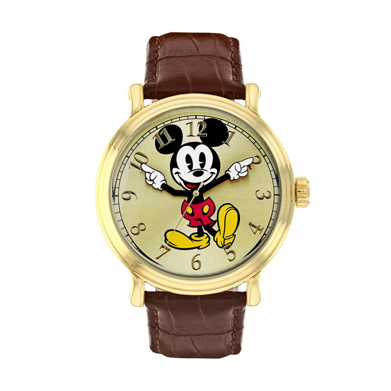 disney s mickey mouse leather