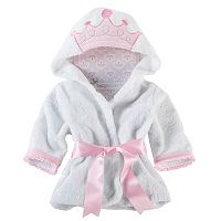 Baby Aspen Little Princess Hooded Spa Robe - Baby Girl