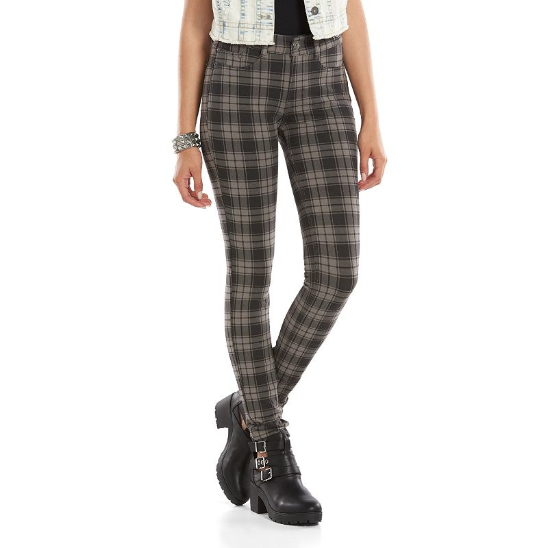 Mudd Moleton Juniors' Skinny Jeans, Size: X SMALL (Grey)