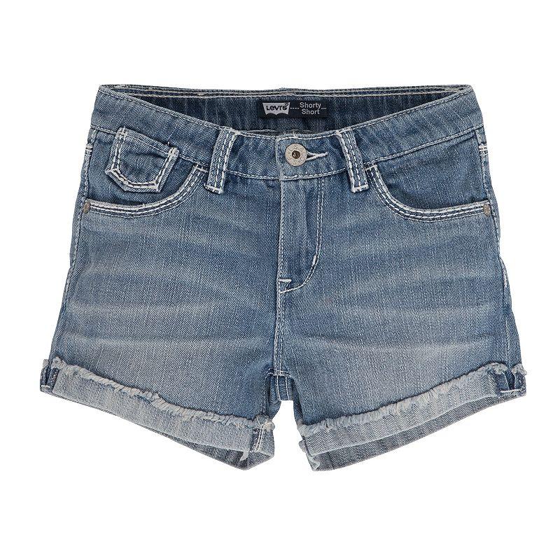Levi's Mission Stitch Shortie Shorts - Girls 7-16