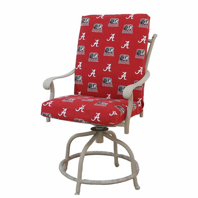 Alabama Crimson Tide 2-Piece Chair Cushion
