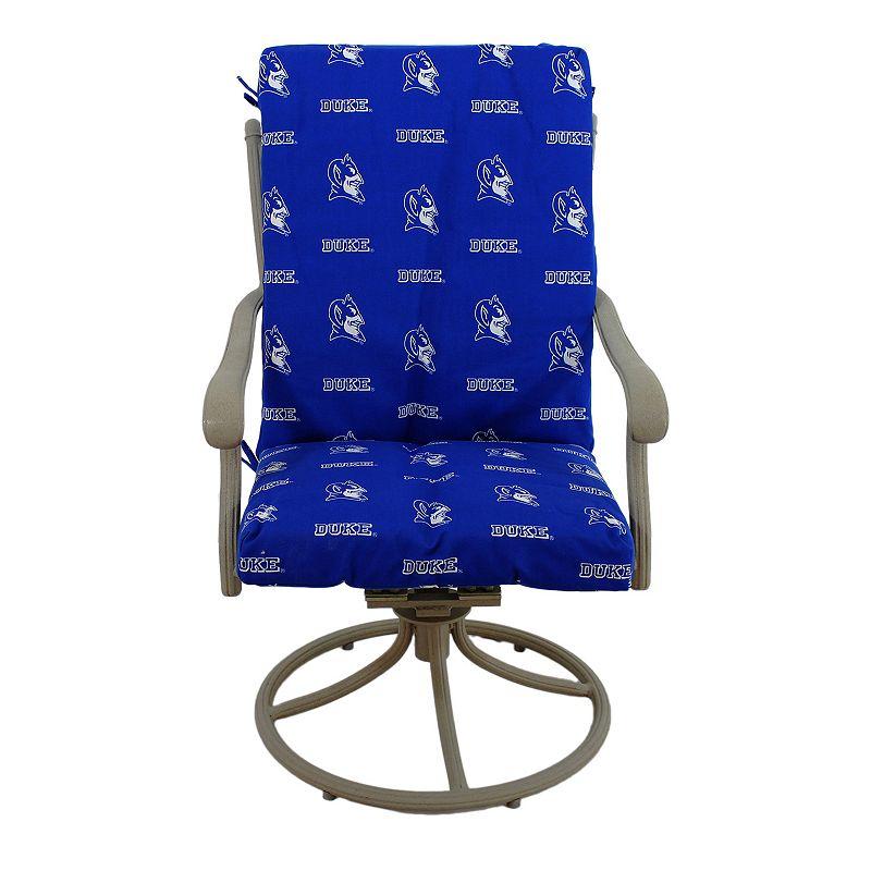Duke Blue Devils 2-Piece Chair Cushion