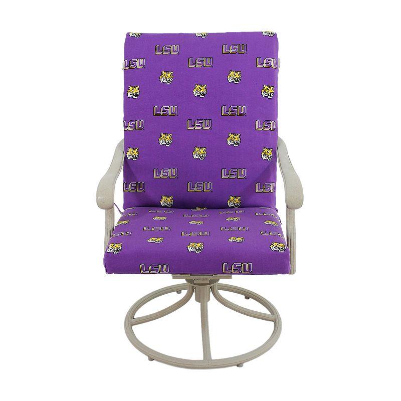 LSU Tigers 2-Piece Chair Cushion
