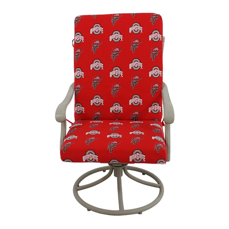Ohio State Buckeyes 2-Piece Chair Cushion