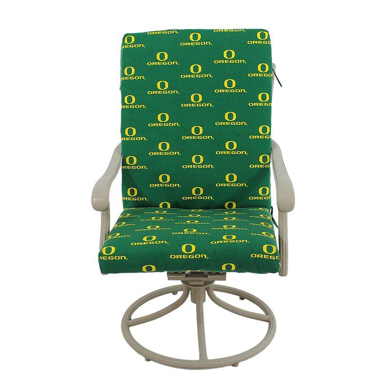 Oregon Ducks 2-Piece Chair Cushion