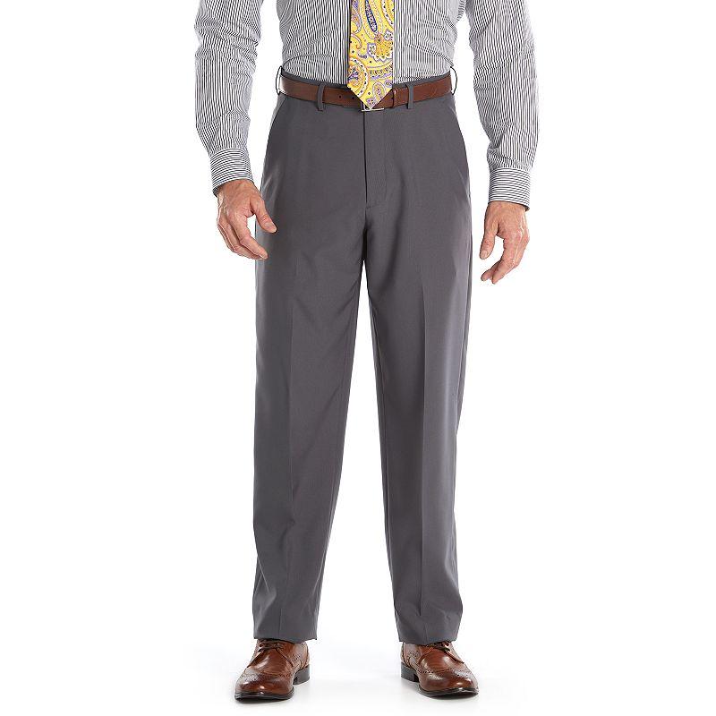 Men's Croft & Barrow® Essential Classic-Fit Herringbone Dress Pants