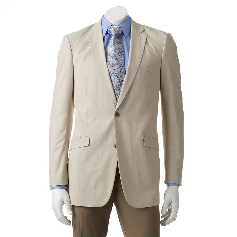 Men's Adolfo Modern-Fit Solid Pinfeather Sport Coat