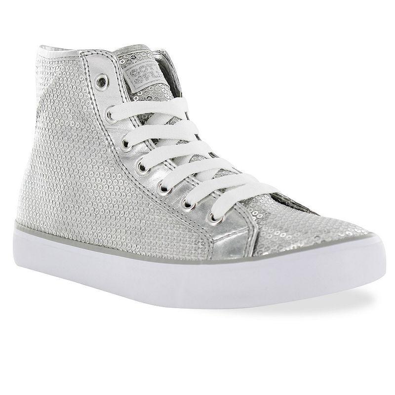 Gotta Flurt Disco II Women's Sequin High-Top Sneakers