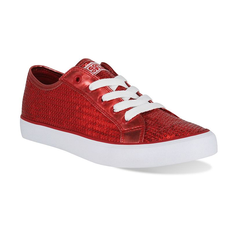 Gotta Flurt Disco II Women's Sequin Low-Top Sneakers