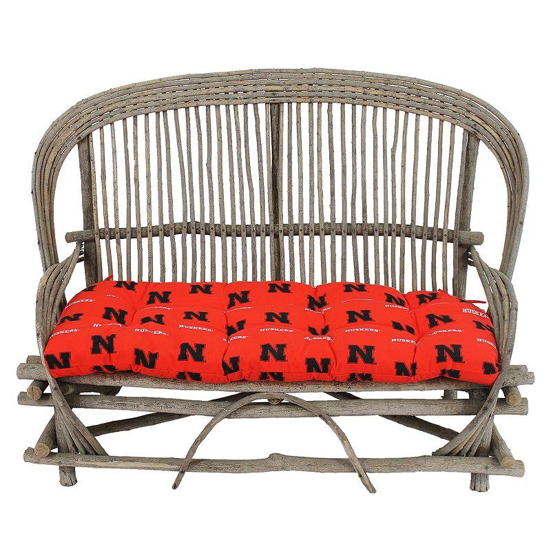 Nebraska Cornhuskers Settee Cushion