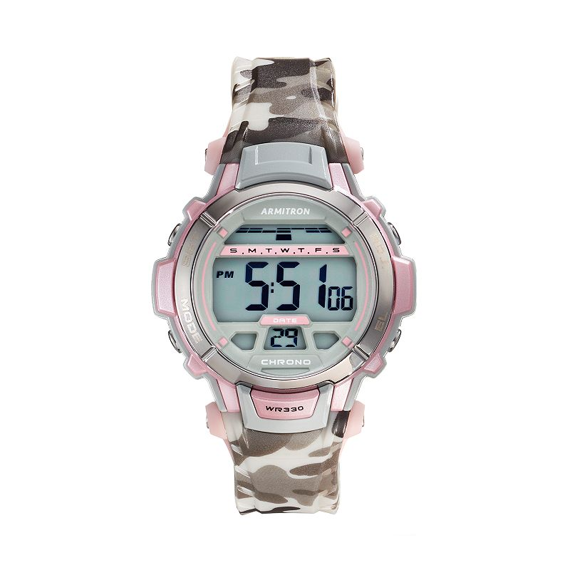 Armitron Women's Sport Digital Chronograph Watch - 45/7036CMPK