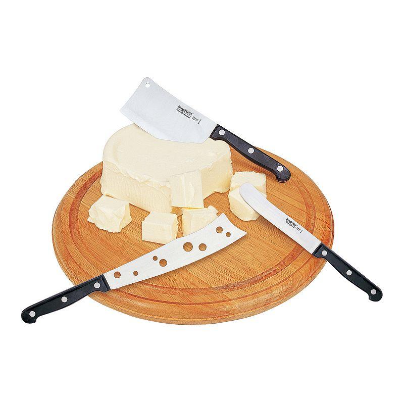 BergHOFF 4-pc. Cutting Board & Cheese Knife Set