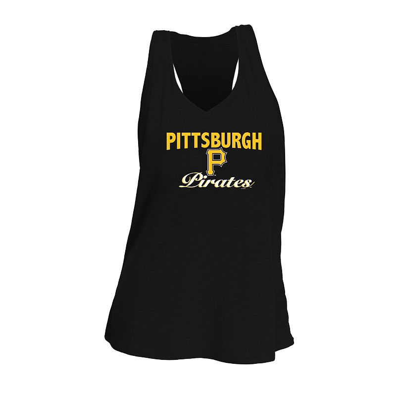 College Concepts Pittsburgh Pirates Racerback Tank - Women's