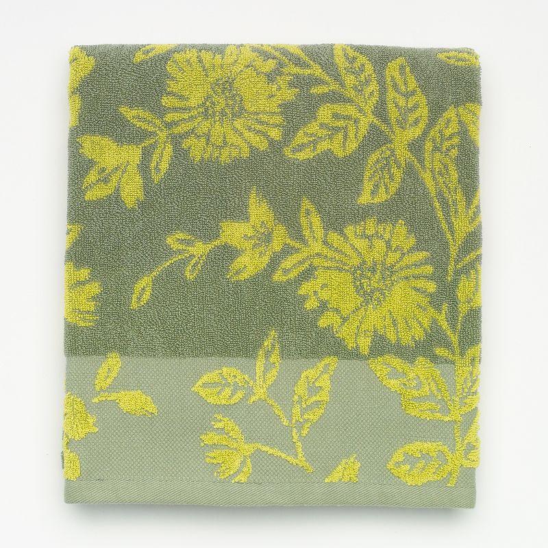 SONOMA Goods for Life™ Garden Oasis Jacquard Floral Bath Towel