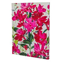 Essential Designs ''Fuchsia Flowers'' Canvas Wall Art