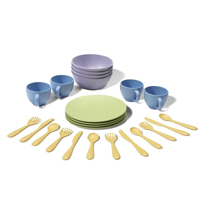 Green Toys Dish Set, Multicolor