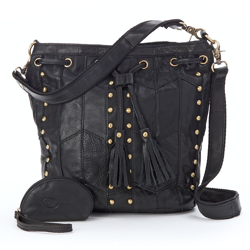 AmeriLeather Maxine Leather Shoulder Bag