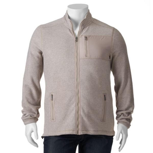 Big & Tall Croft & Barrow® Classic-Fit Arctic Fleece Full-Zip Jacket