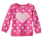 Jumping Beans® Applique Sweatshirt - Baby Girl