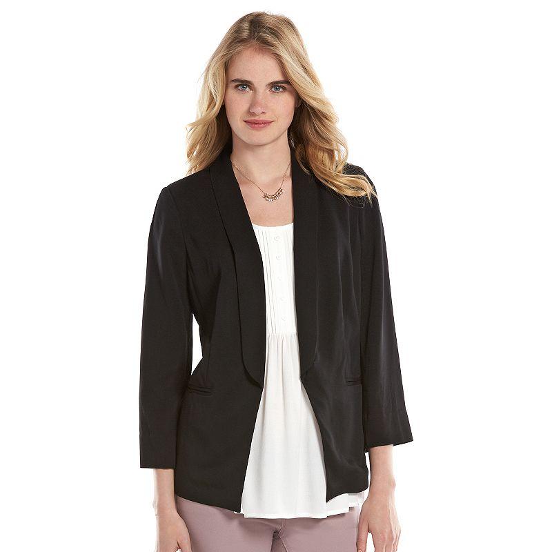 Women's LC Lauren Conrad Open-Front Blazer