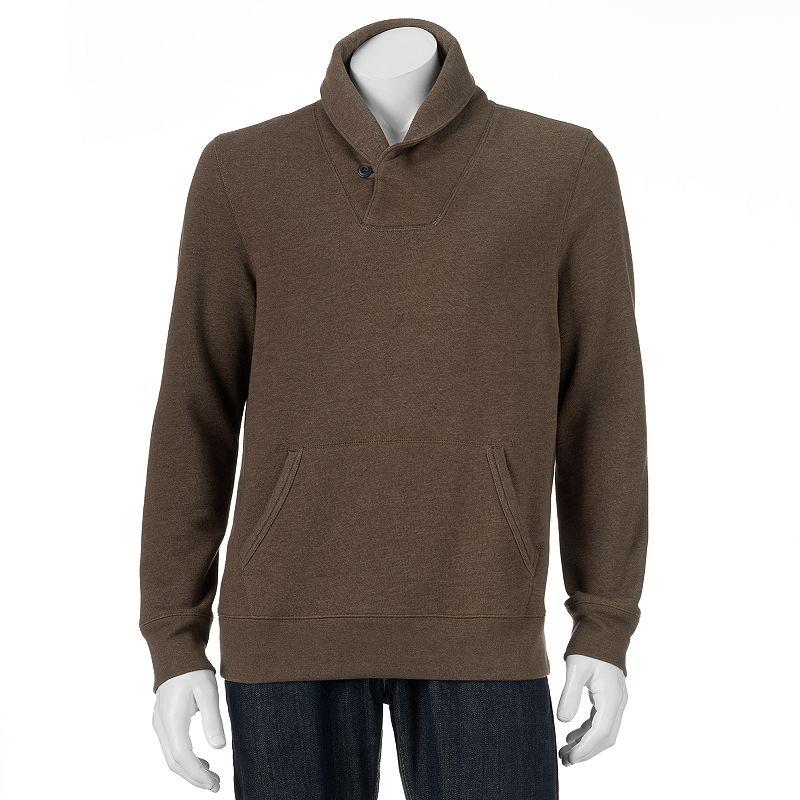 Big & Tall SONOMA Goods for Life™ Fleece Shawl-Collar Pullover
