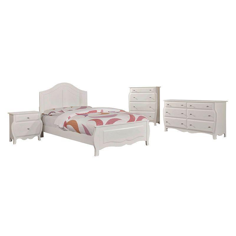 Venetian Worldwide Roxana 4-piece Bedroom Set