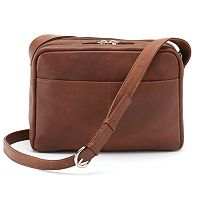 ili Leather Organizer Crossbody Bag