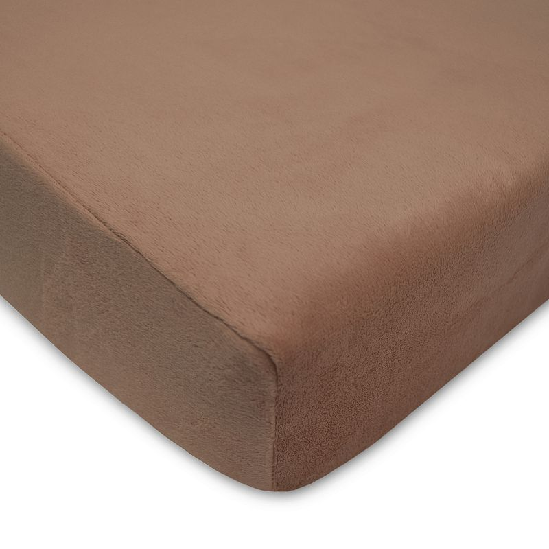 TL Care Heavenly Soft Chenille Crib Sheet