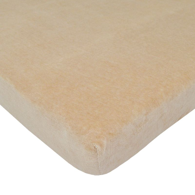 TL Care Organic Cotton Velour Crib Sheet