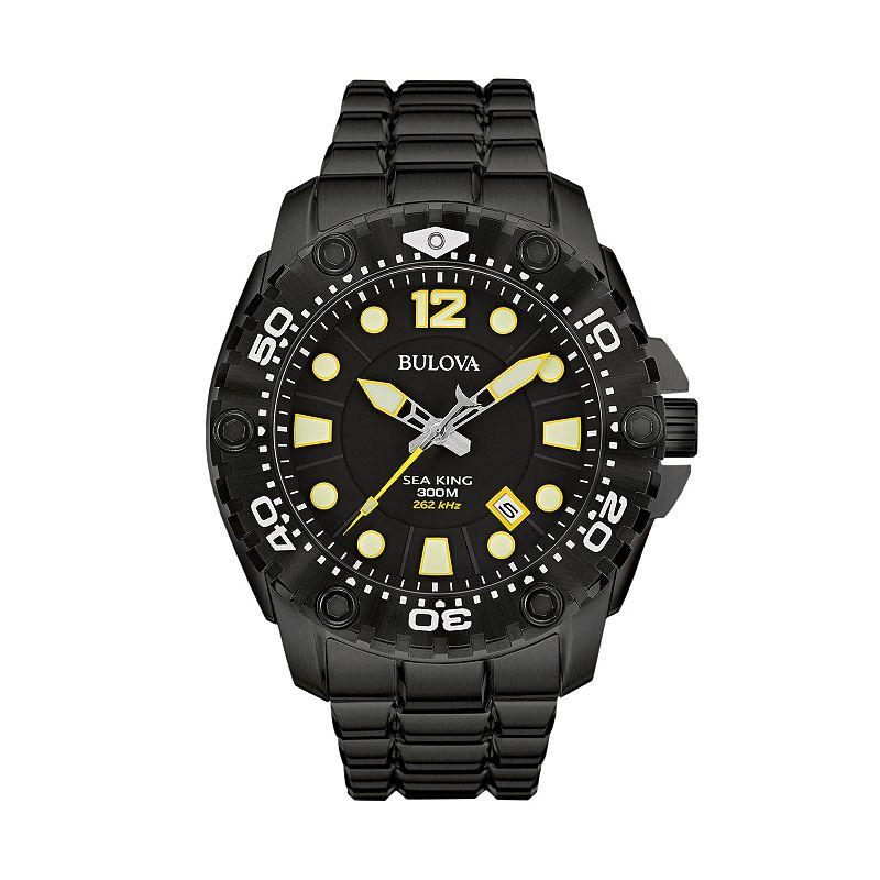 Bulova Men's Sea King Stainless Steel Watch - 98B242