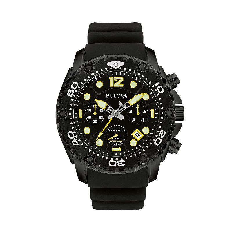 Bulova Men's Sea King Chronograph Watch - 98B243