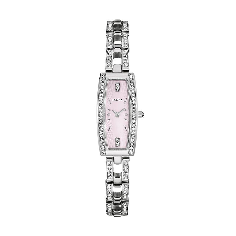 Bulova Women's Crystal Stainless Steel Watch - 96L208